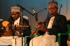 Bi Kidude with Culture Taarab Orchestra